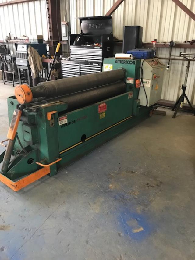 "5/16"" x 5 ft Americor Plate Bending Roll Model LH180/5"