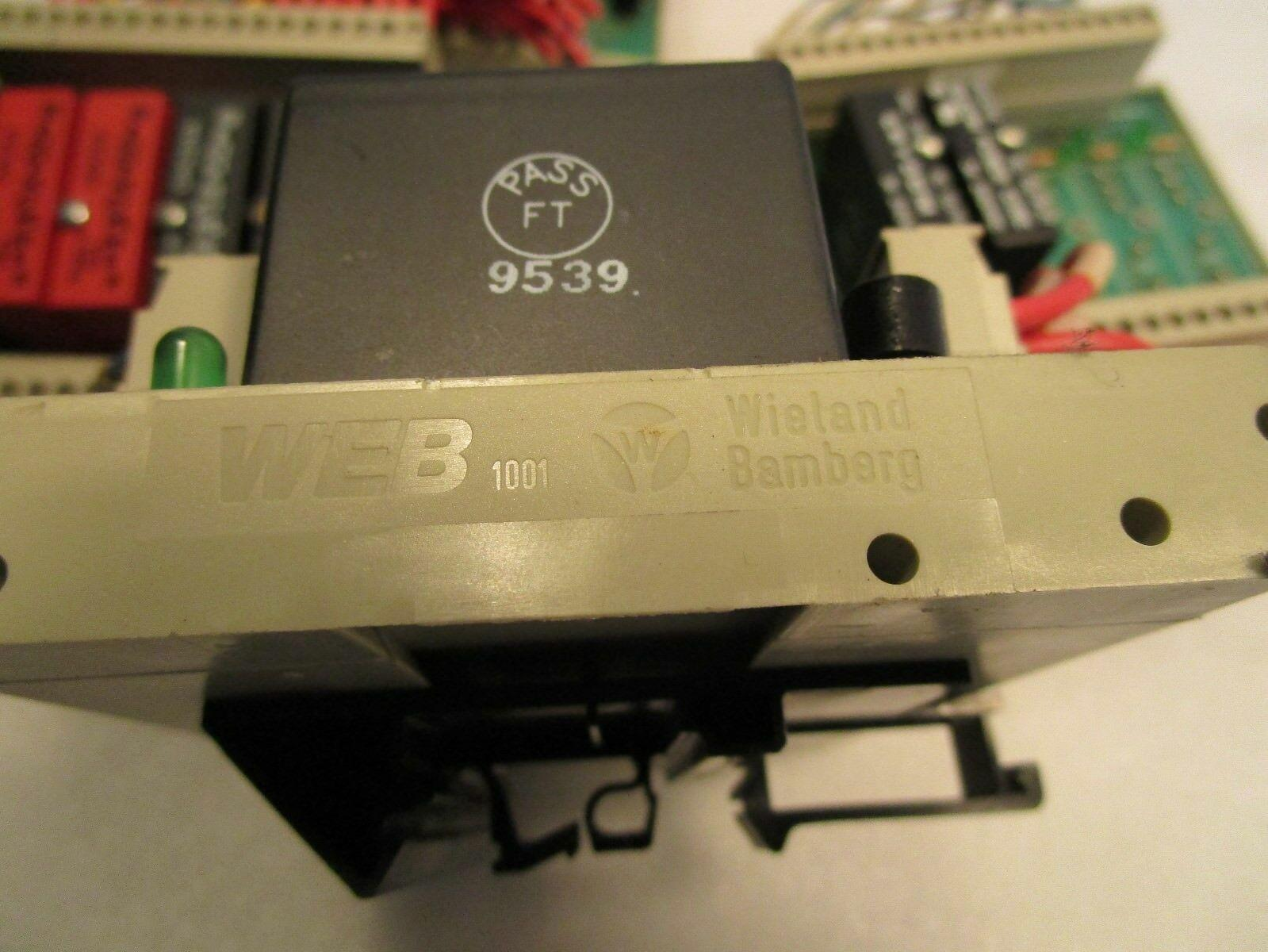 Wieland Bamberg WEB 1001 I/O Boards and Modules Relays (4)