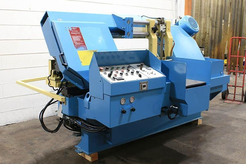 "14"" x 16"" DoAll Automatic Horizontal Band Saw Model C-410A"