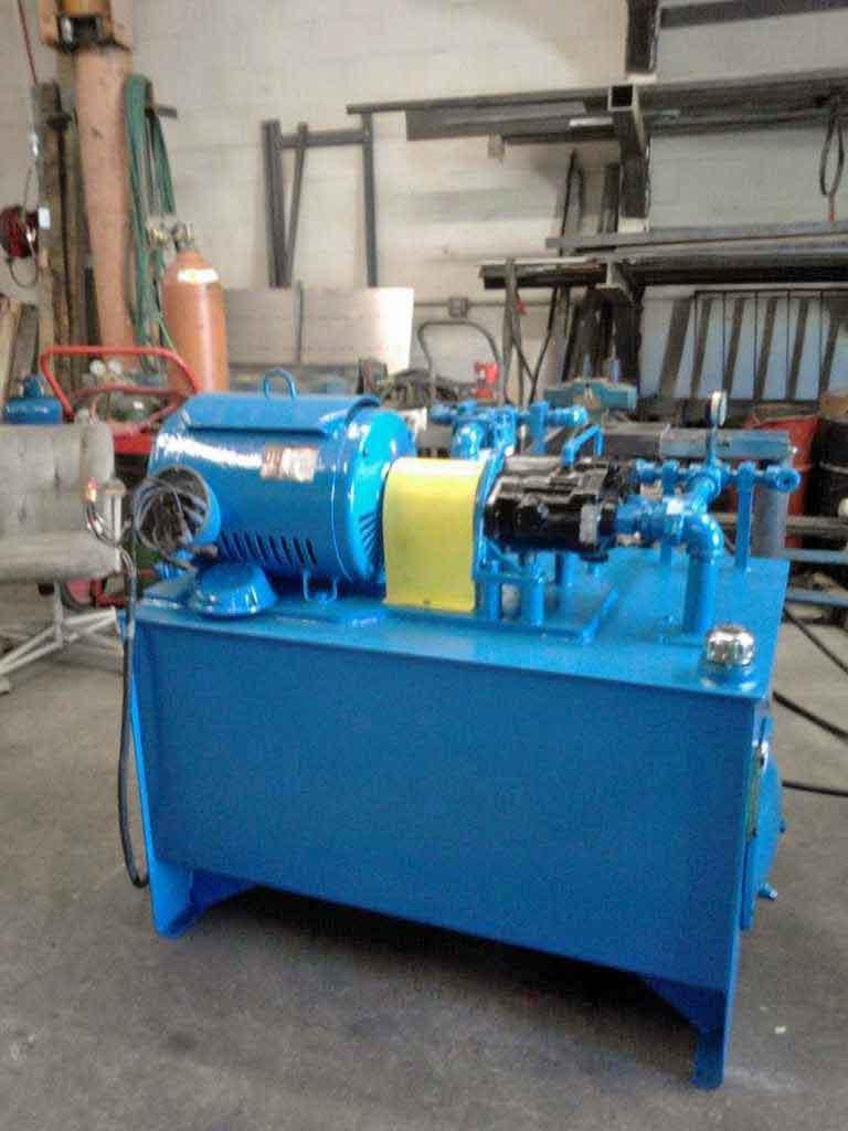 30 HP Hydraulic Unit, Custom