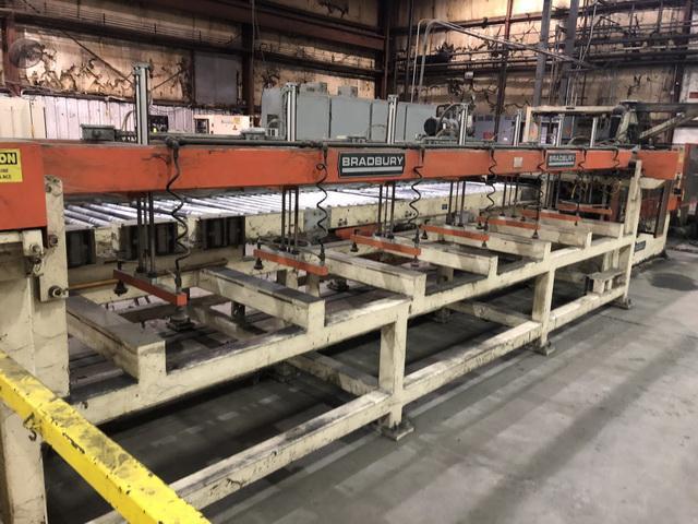 10 Stand Bradbury Duplex Rollform Line