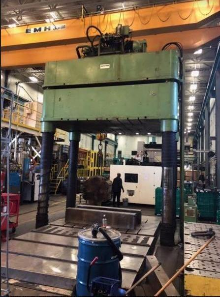 Mayson 200 Ton Hydraulic Spotting Press