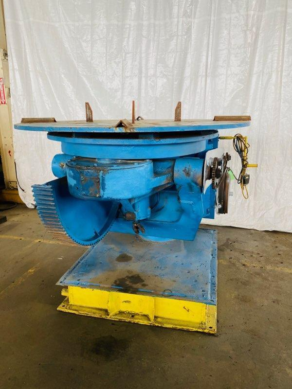 14,000 LB. CULLEN FRIESTEDT MODEL 140 WELDING POSITIONER. STOCK # 2001420