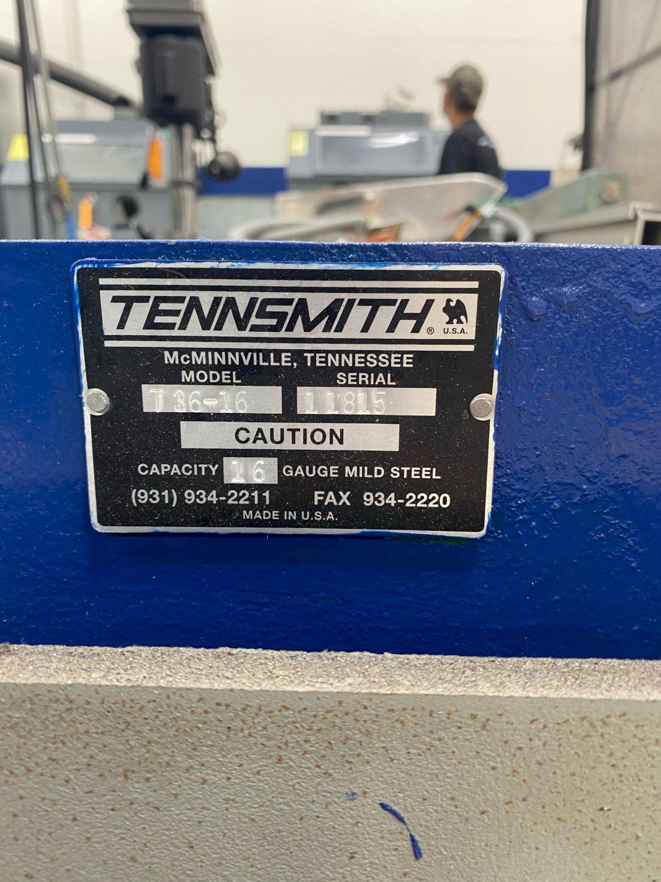 Tennsmith 16-gauge Foot Shear Model T36-16