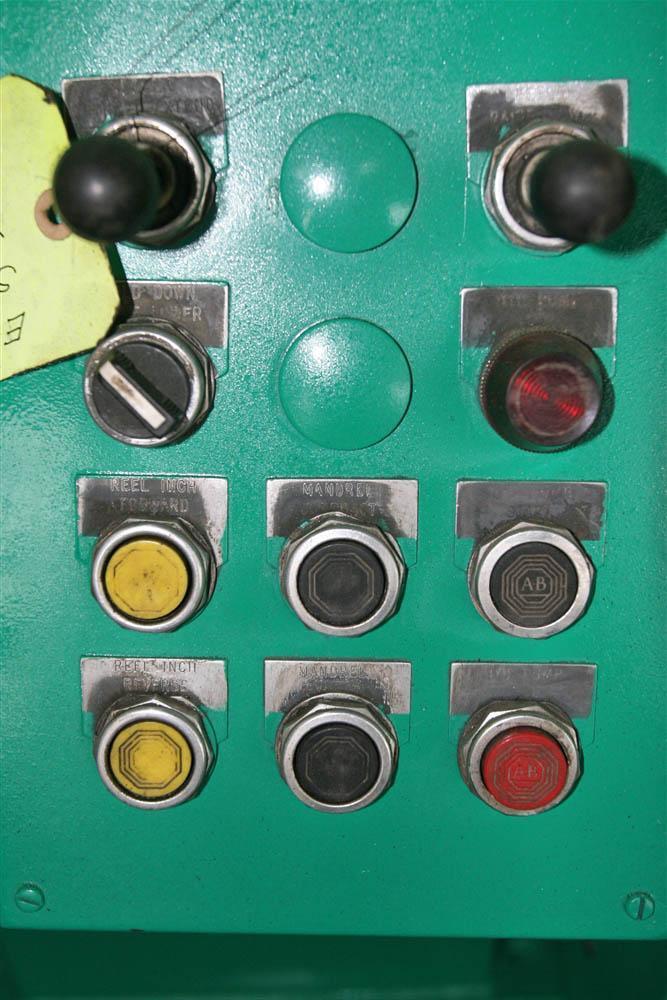 EGAN 7 ROLL MODEL #S40-620 POWER STRAIGHTENER: STOCK #16946