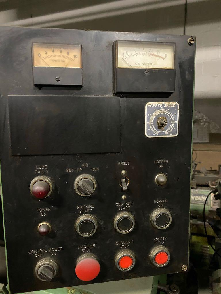 "Used 1/4"" Warren Model WT-1000 High Speed Thread Roller"
