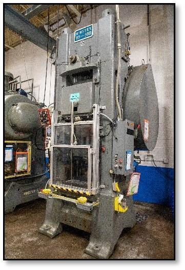 Minster 90-600 Knuckle Press, Used