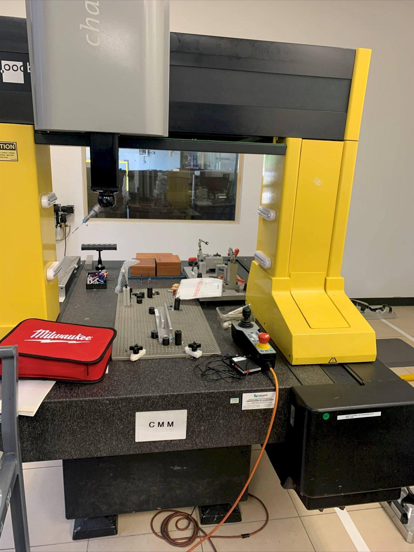 Brown and Sharpe Chameleon 7-10-7 DCC Coordinate Measuring Machine