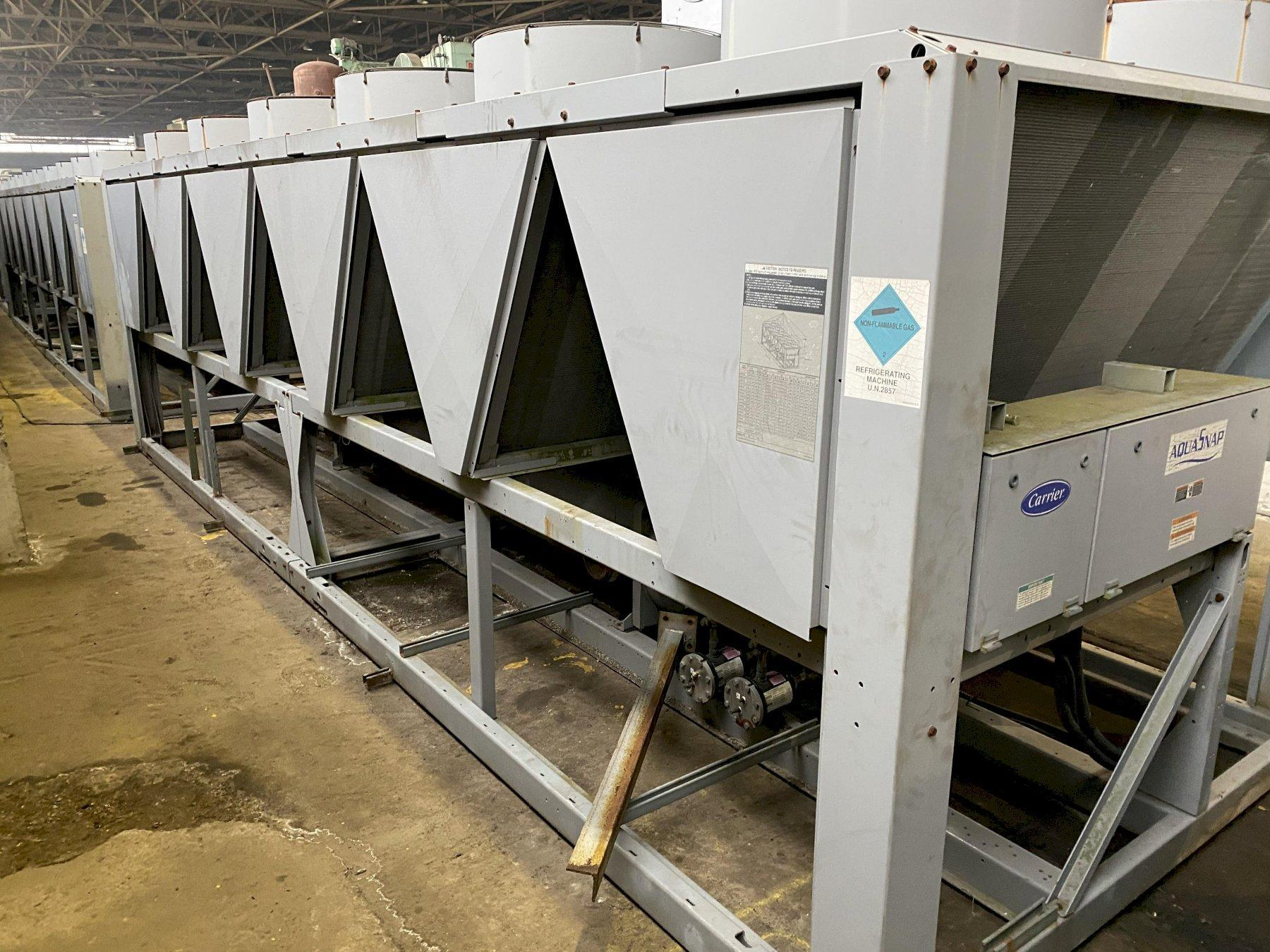 190 Ton Carrier Air Cooled Liquid Chiller