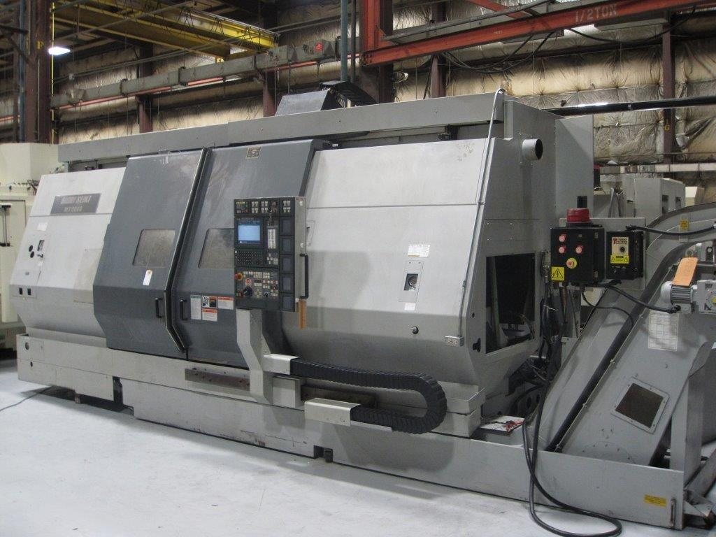 MORI SEIKI MT-3000S CNC TURN/MILL CENTER WITH (Y) AXIS AND SUBSPINDLE