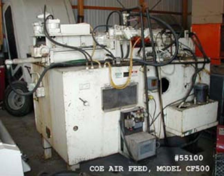 (1) PREOWNED COE AIR FEED, MODEL CF500, S/N H052815