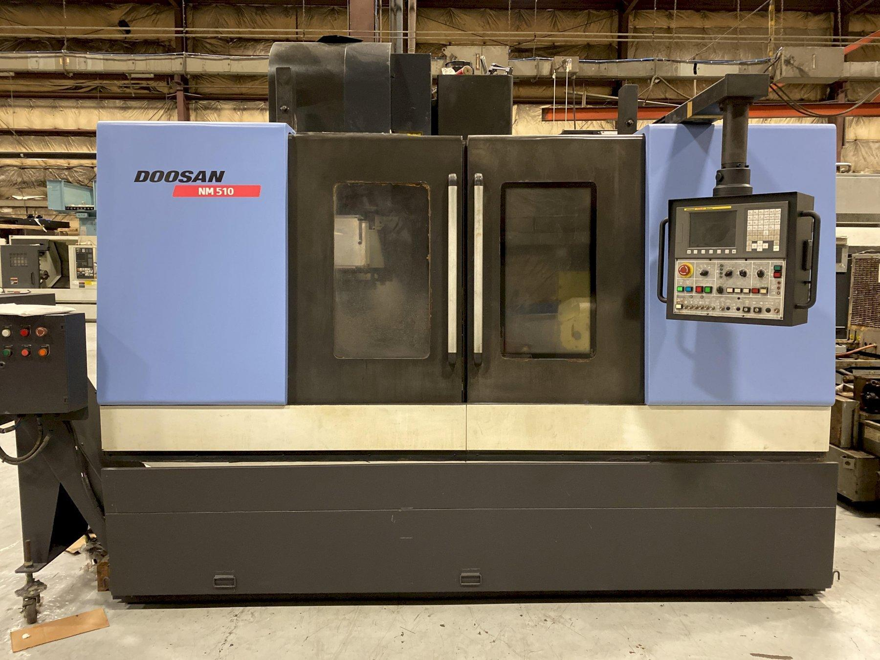 2008 DOOSAN NM 510 - Vertical Machining Center