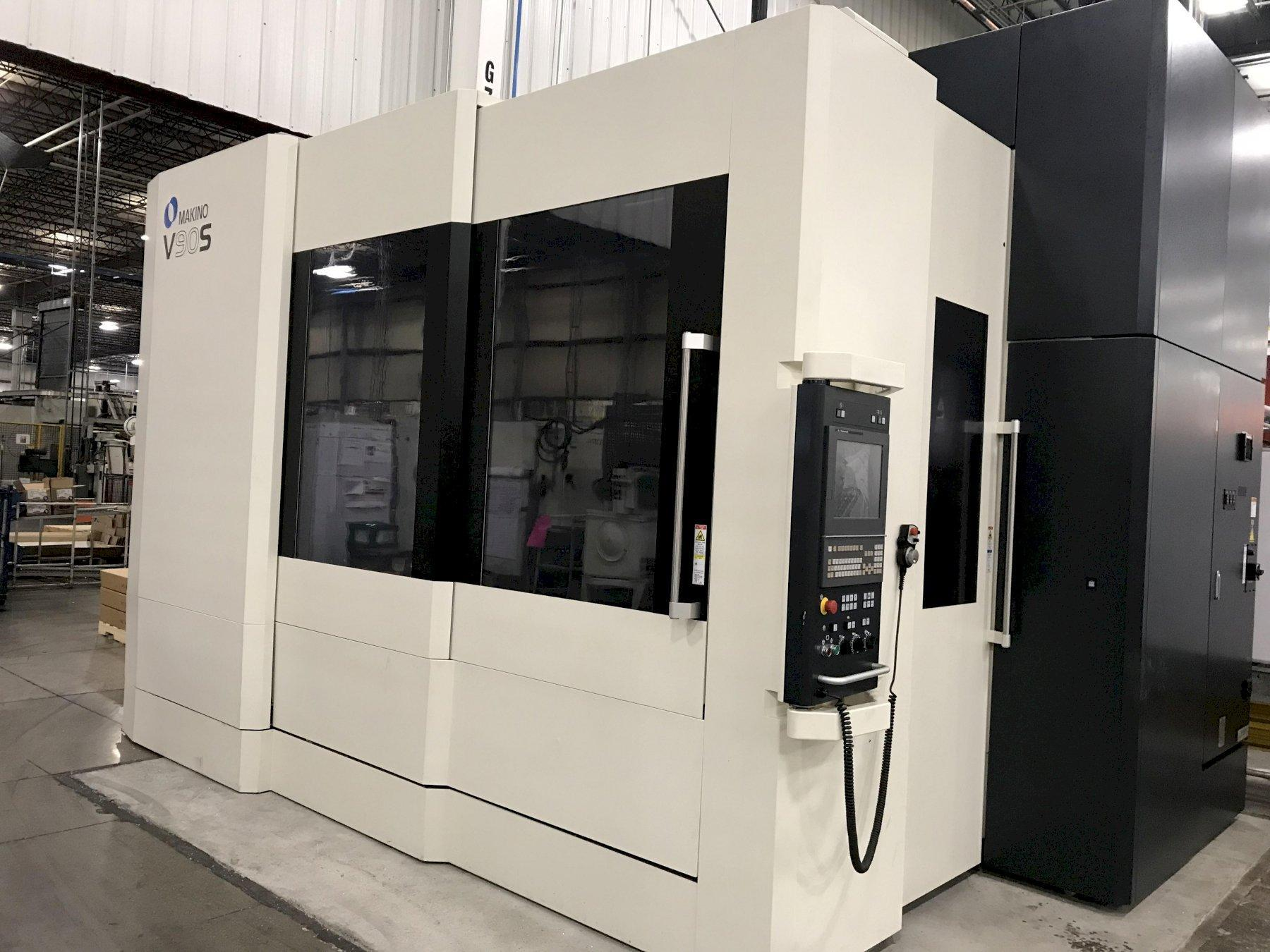 Makino V90s (5) Axis Vertical Machining Center