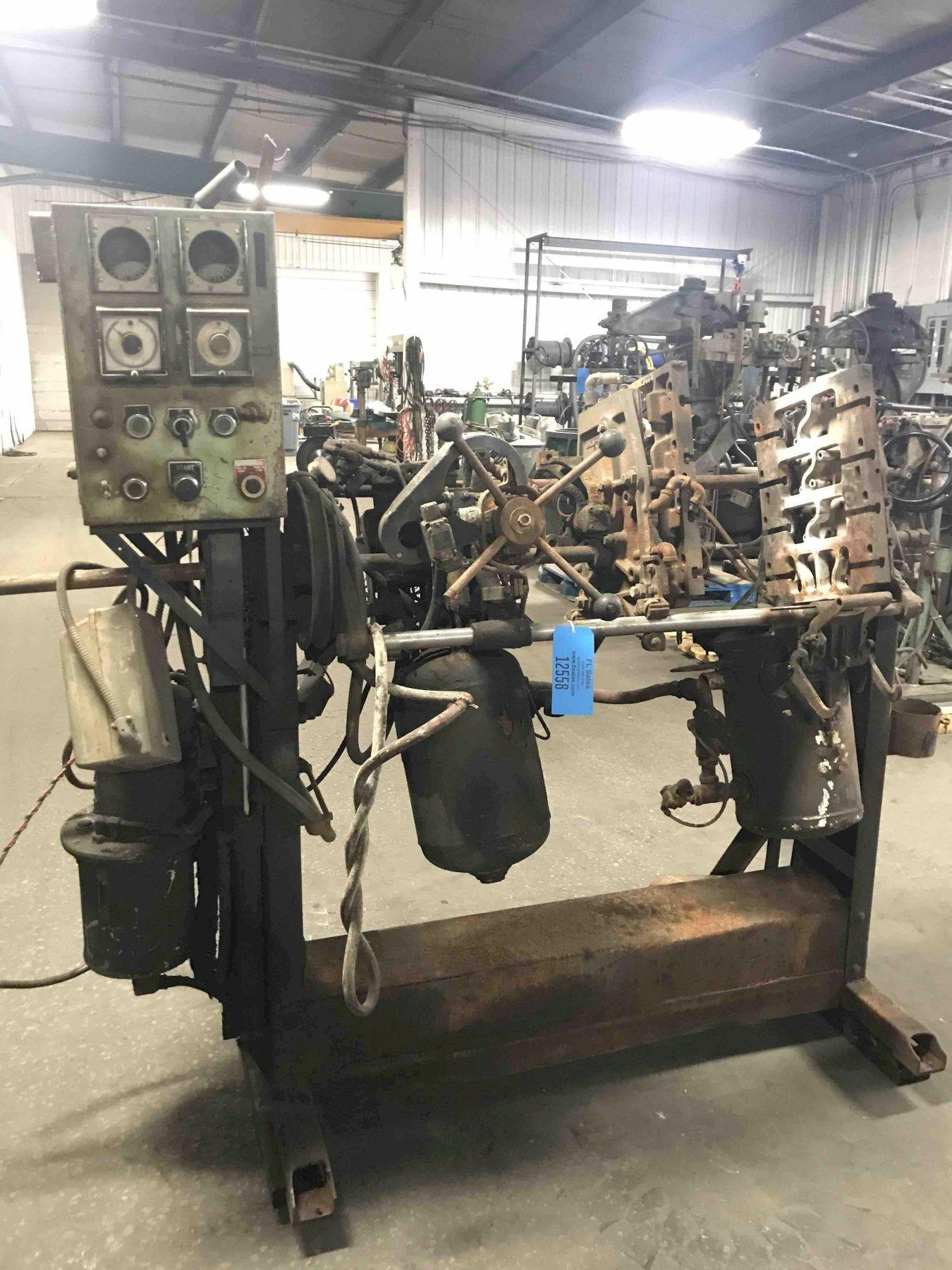 Dependable model 200fa shell core machine no serial number, no gas panel