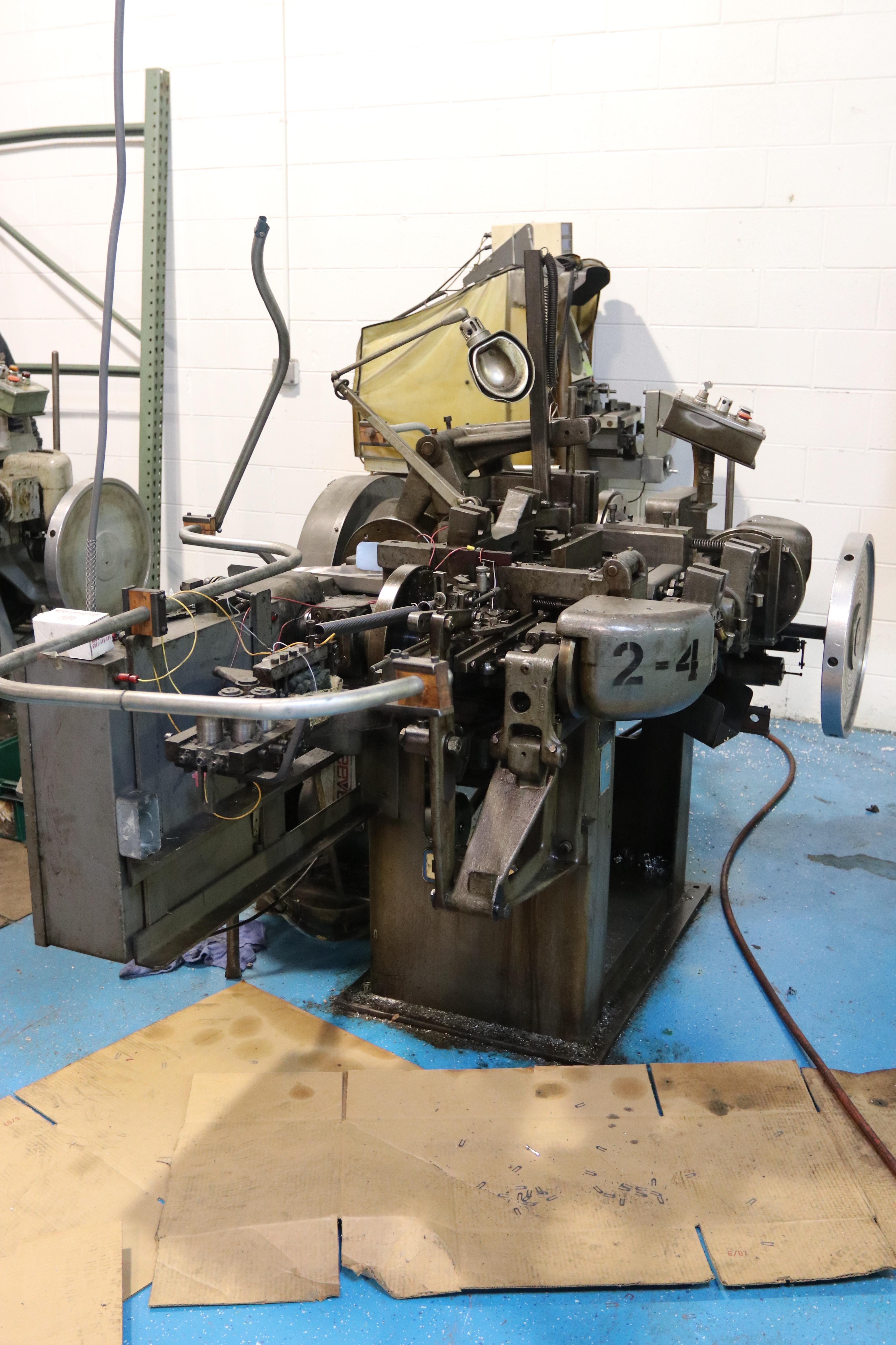 S2F NILSON FOUR SLIDE WIRE FORMING MACHINE: STOCK 10086