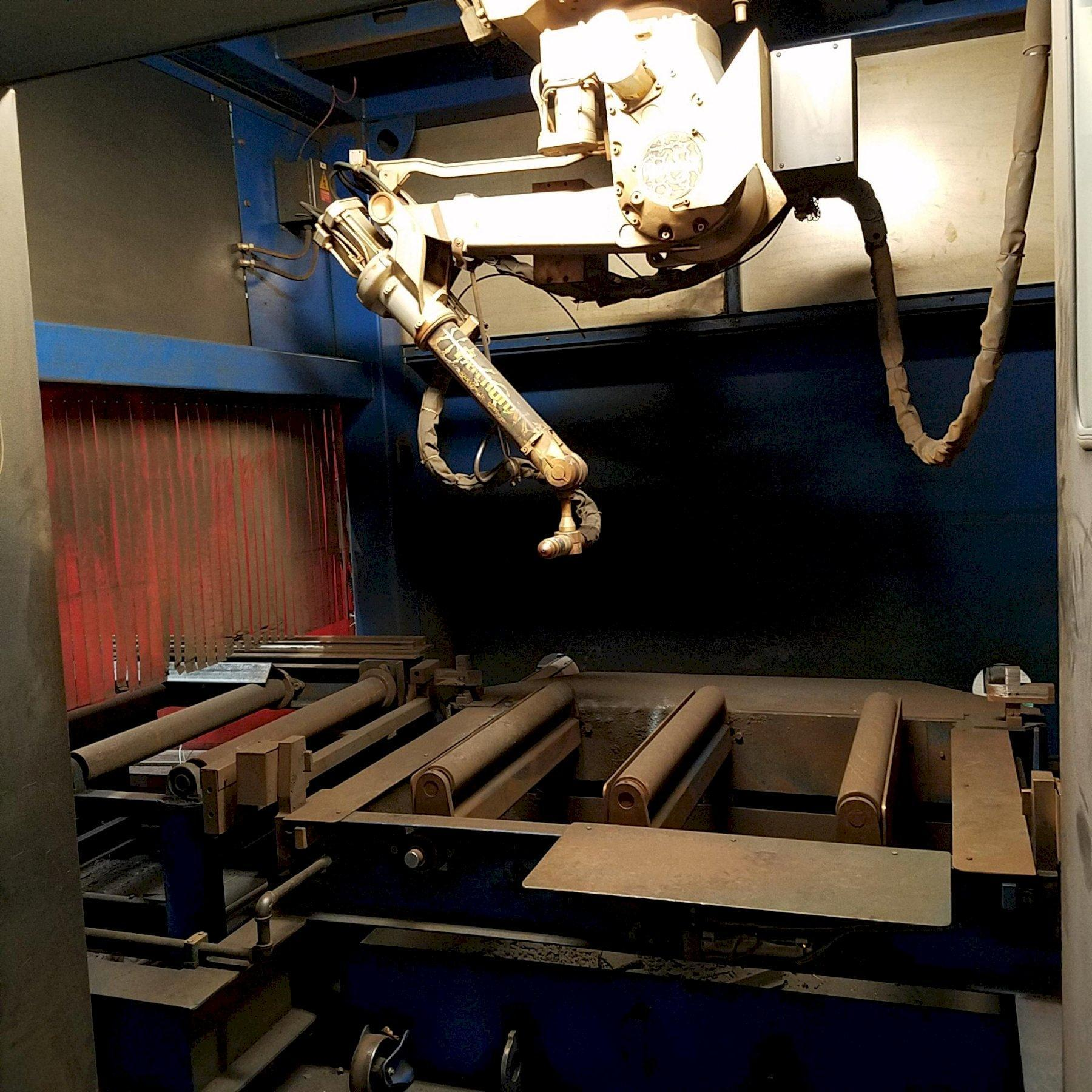 USED BURLINGTON AUTOMATION MODEL PYTHON X STRUCTURAL STEEL FABRICATING SYSTEM, Stock # 10754, Year 2013
