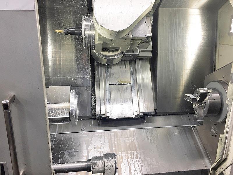 Okuma Multus B300W Big Bore CNC Turning Center