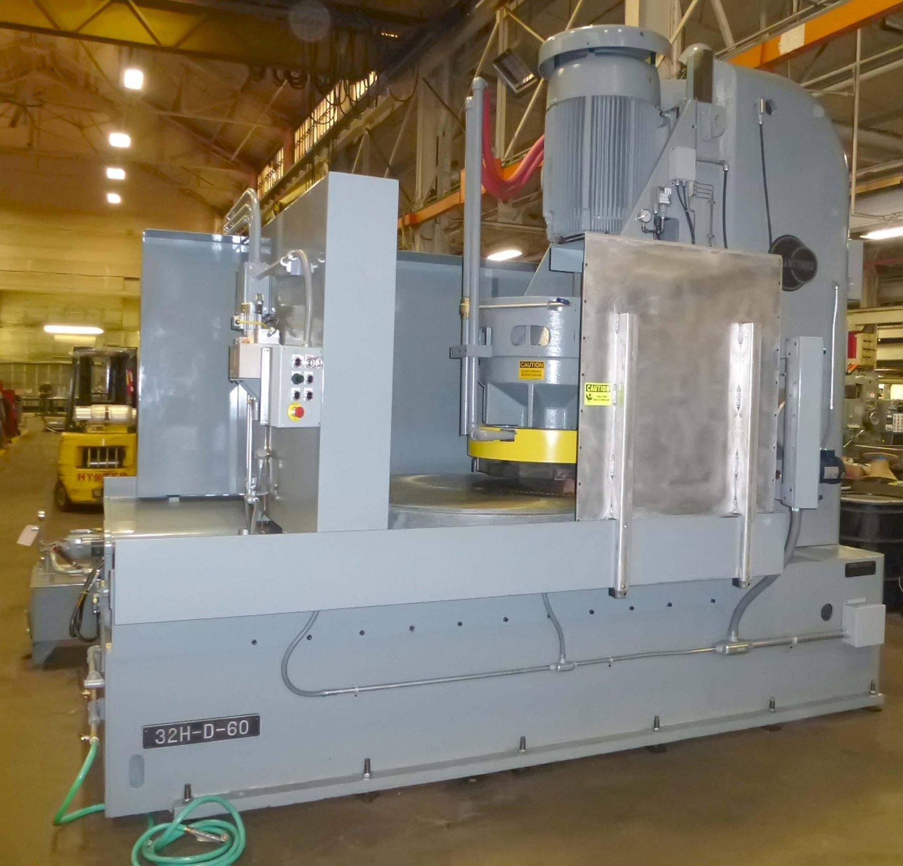 "Blanchard #32HD-60, 60"" Vertical Spindle Rotary Surface Grinder, Re-maned w/ 1 Yr warranty"
