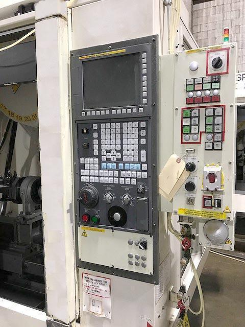 """FANUC ROBODRILL aT21iFL, Fanuc 31i CNC Control, 33"""" x 16"""" Table, X=27.5"""",Y=16"""",Z=13"""", 10,000 RPM, 21 Station Tool Changer, Trunnion Table, New 2008."""