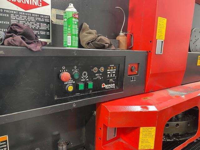 1997 Amada Vipros358 CNC Turret Punch, 33 Ton, 58 Station Thick Turret, 04PC Controls