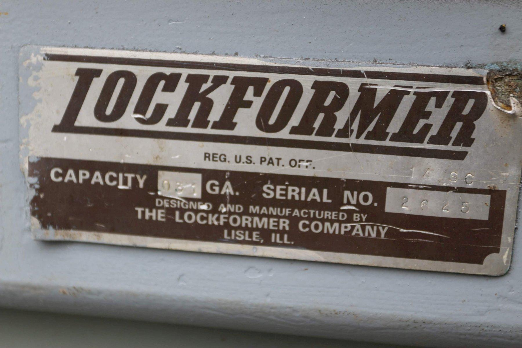 "Lockformer 14-Stand x 1.25"" Rollformer"
