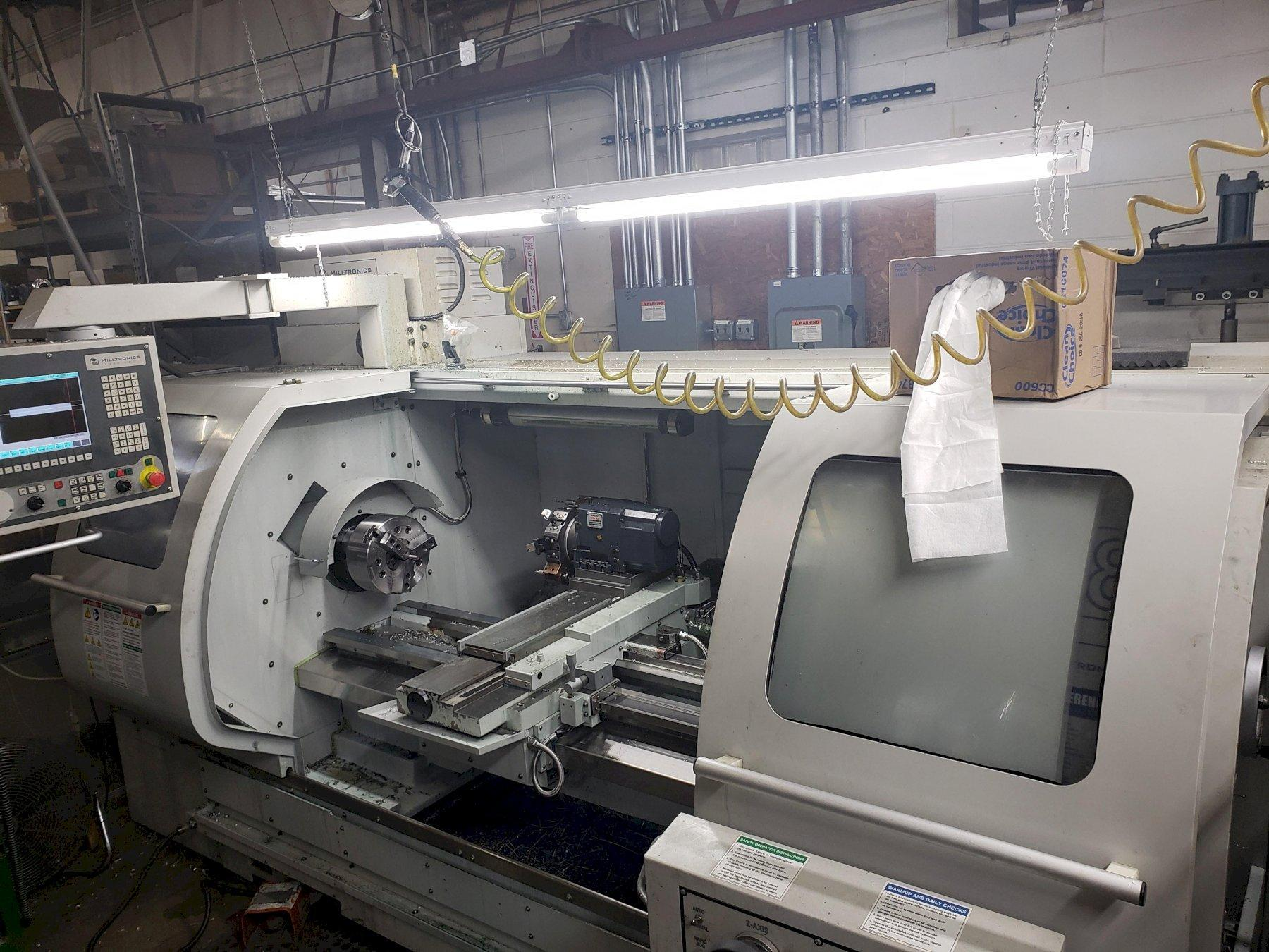 Milltronics ML18/60 CNC 2-Axis Combination Lathe, S/N 11882, New 2012