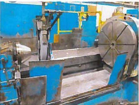 Herkules Roll Grinder Model WS 450-8L x 3500 CNC