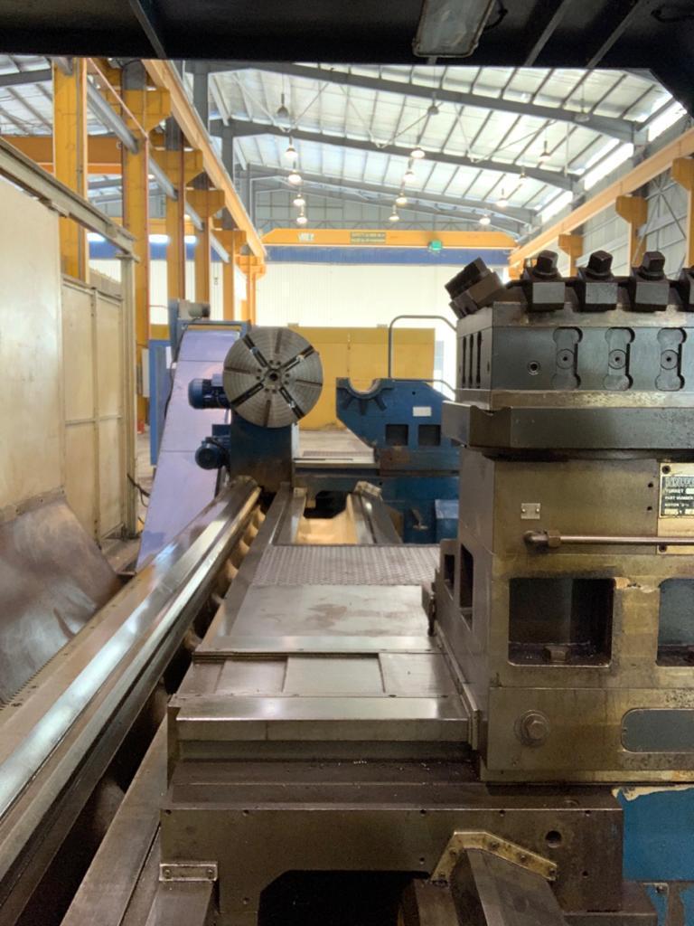 Tacchi HD/3 90H 4-Axis CNC Lathe 675x5500