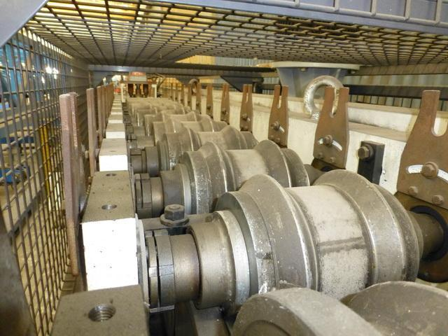 """12 Stand Complete """"Feet Stopper"""" Profile for Scaffolding Roll Forming Line"""