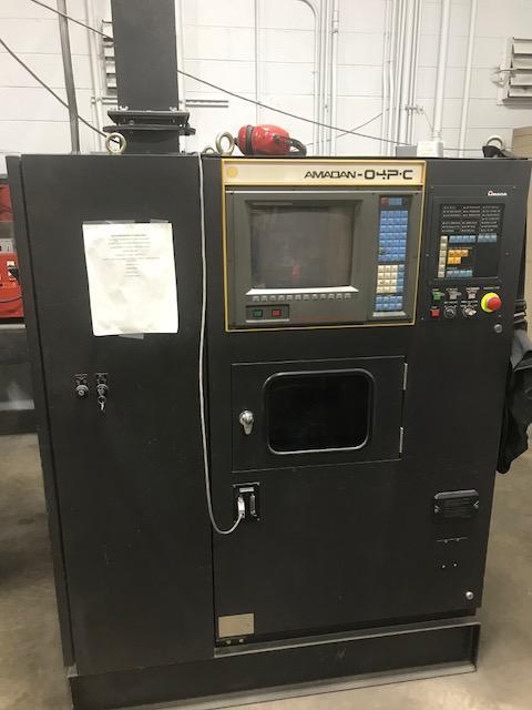 """1993 Amada Pega345K, 33 Ton, 50"""" x 50"""" CNC Turret Punch"""