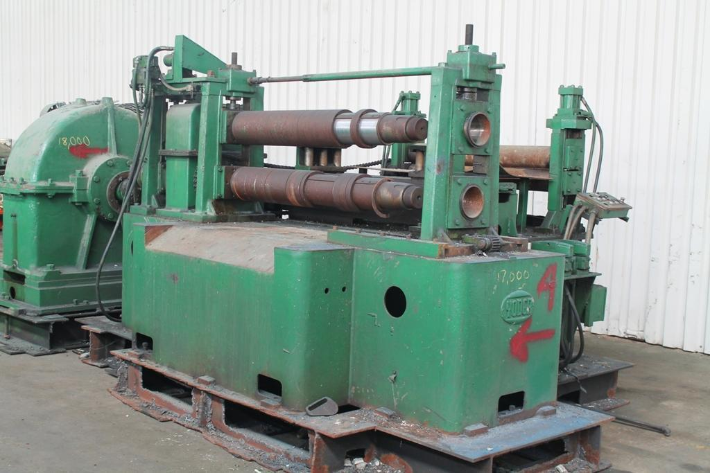 48' X 7' YODER POWERED SLITTING HEAD:  STOCK #59306