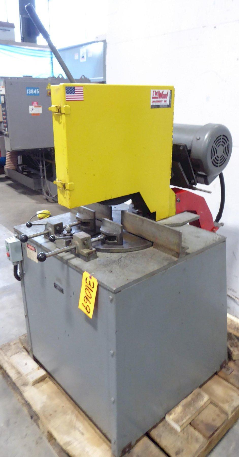 "16""/18"" Kalamazoo Abrasive Saw KM16-18, Miter, 3"" Solids, 10 HP"