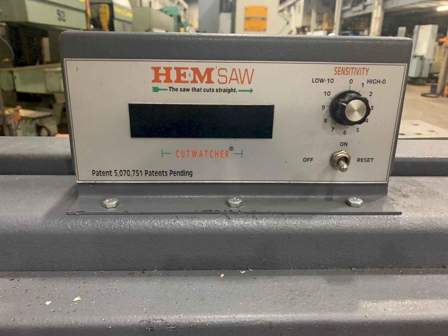"USED HEM 14"" X 20"" MODEL DC-1420HA-C DUAL COLUMN AUTOMATIC HORIZONTAL BANDSAW, Stock #10801, Year 2013"