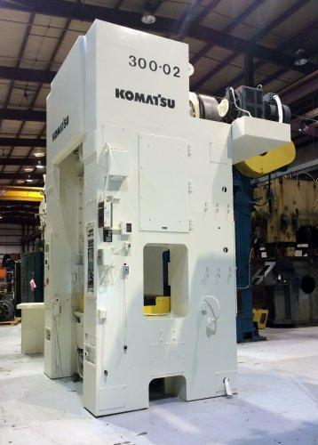 300 Ton Komatsu E2M-300 Straight Side Press