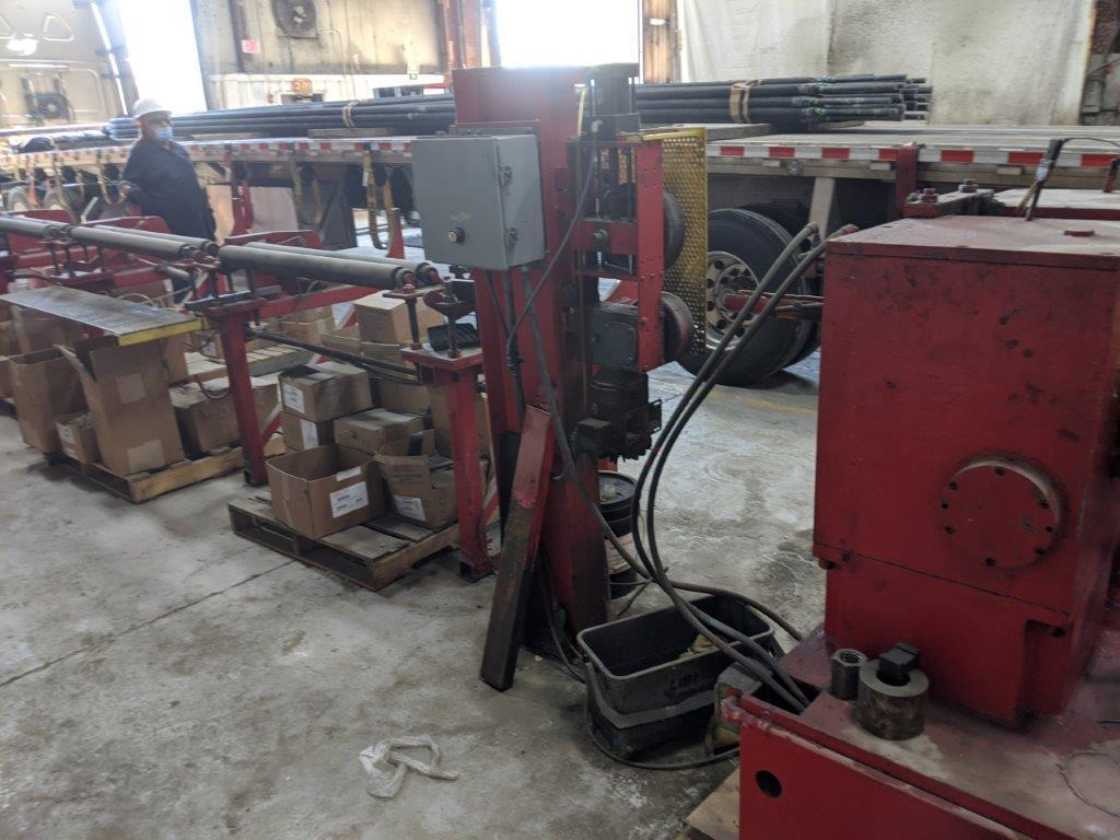 100 Ton ORT RP90 Thread Roller 2 Die Cylindrical
