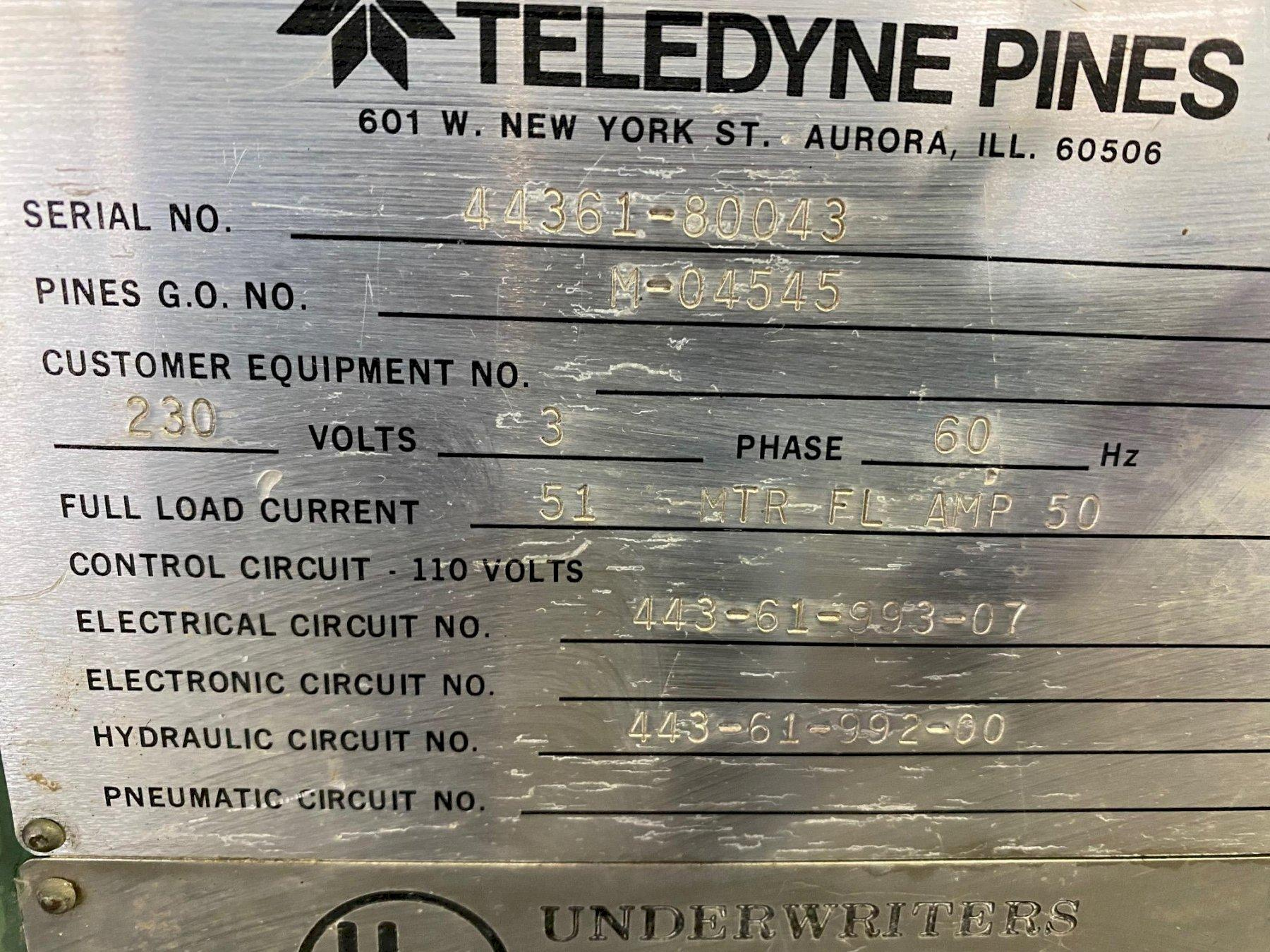 Pines No. 3 T Vertical Tube Bender
