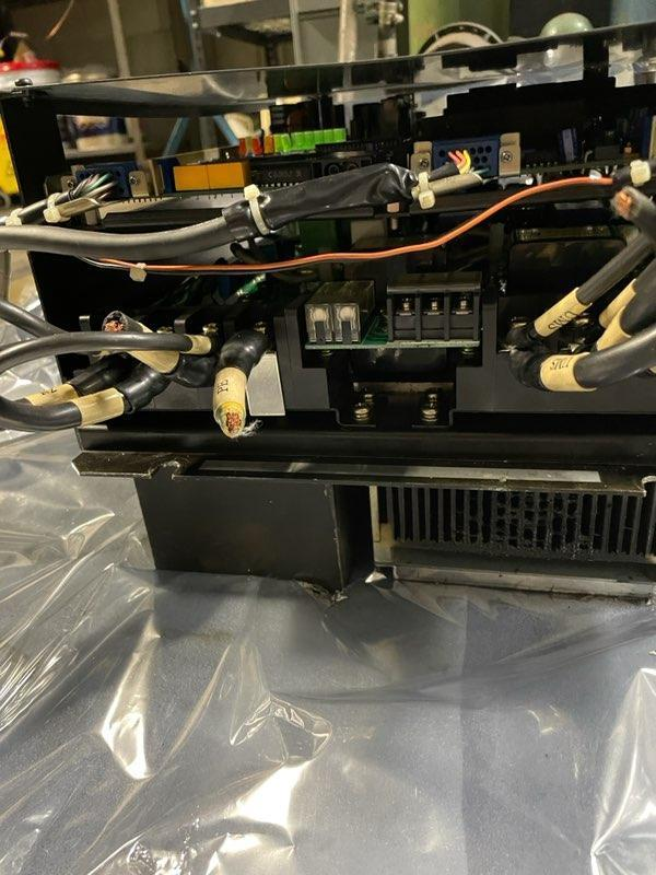 OKUMA SPINDLE DRIVE, VAC III Drive Unit, D-11, Motor 7.5/5.5 KW.