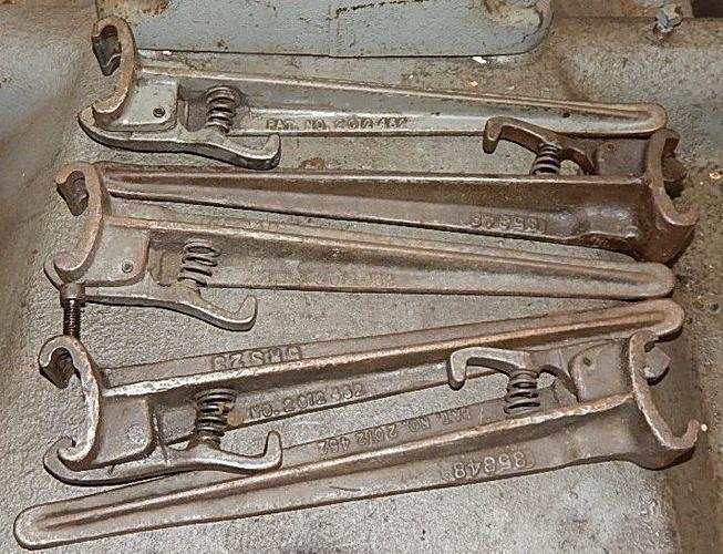 5 USED LITTELL MODEL 10 UNCOILER KEEPERS, Stock# 10887