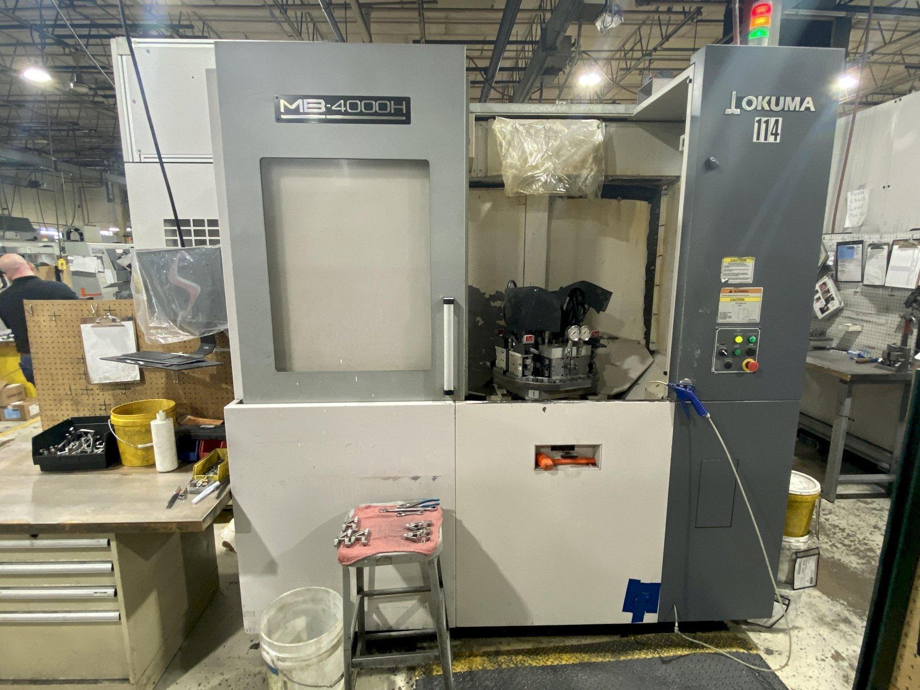 OKUMA MB4000H CNC Horizontal Machining Center