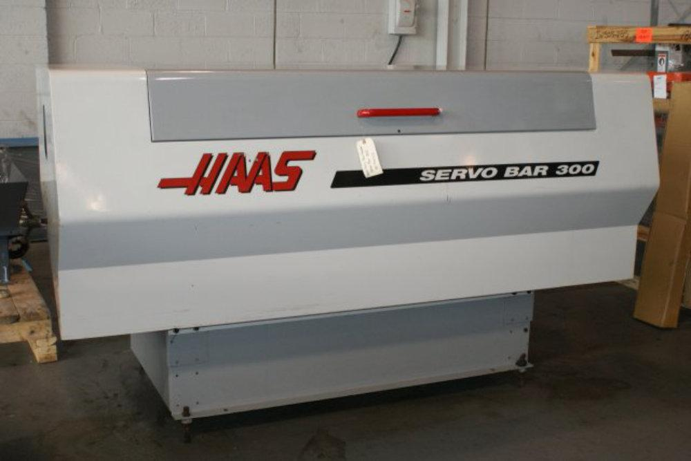 "USED HAAS SERVO BAR 300 BARFEED, Model Servo Bar 300, 0.25""- 3.125"", Stock No. 8503"