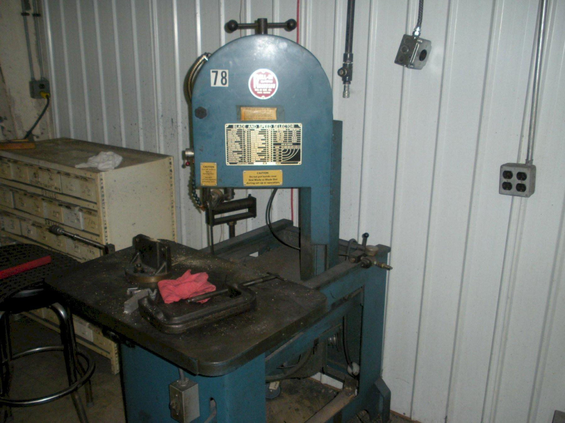 Roll-IN Saw Bandsaw
