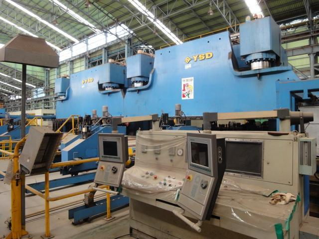Taper Pole Production Line NEW 2006 / 2012
