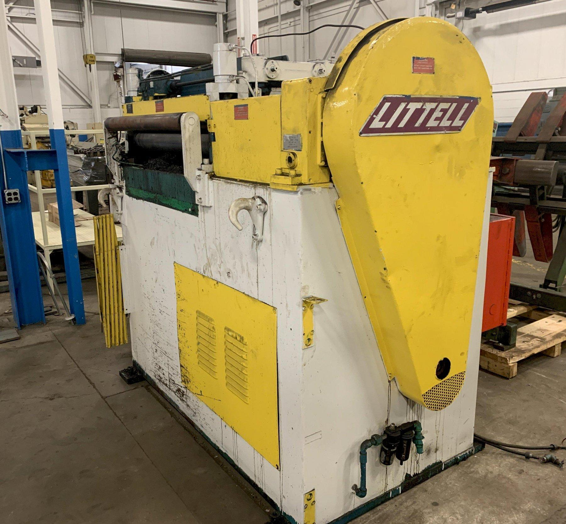 """20,000 lbs x 36"""" Wide Littell Coil Reel and Straightener"""