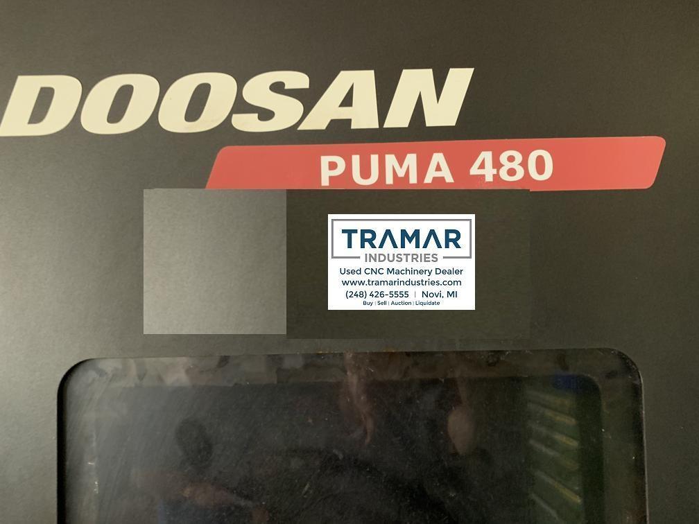 2013 Doosan Puma 480 - CNC Horizontal Lathe