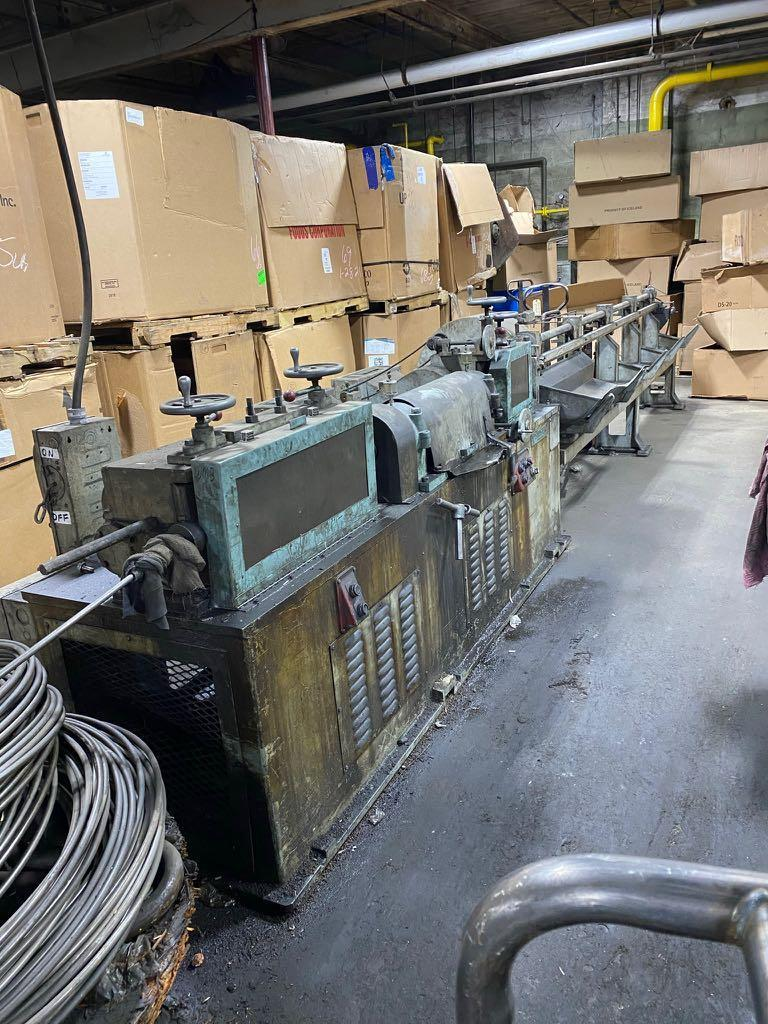 "1/2"" Shuster Model 3AV Wire Straightener and Cutting Machine"