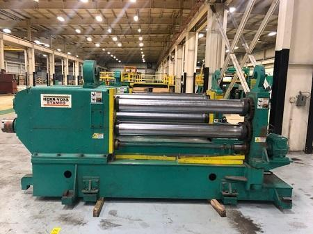 "60"" x .134"" x 50,000 LBS Stamco/Chicago Slitter Injector Slitting Line: STOCK 12883"