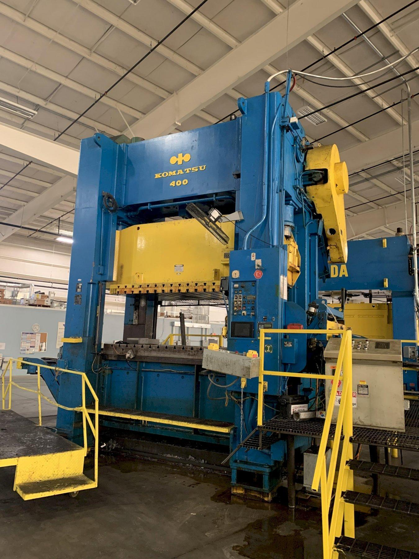 300 ton Komatsu E2P-300 Plunger Guided Straight Side Press