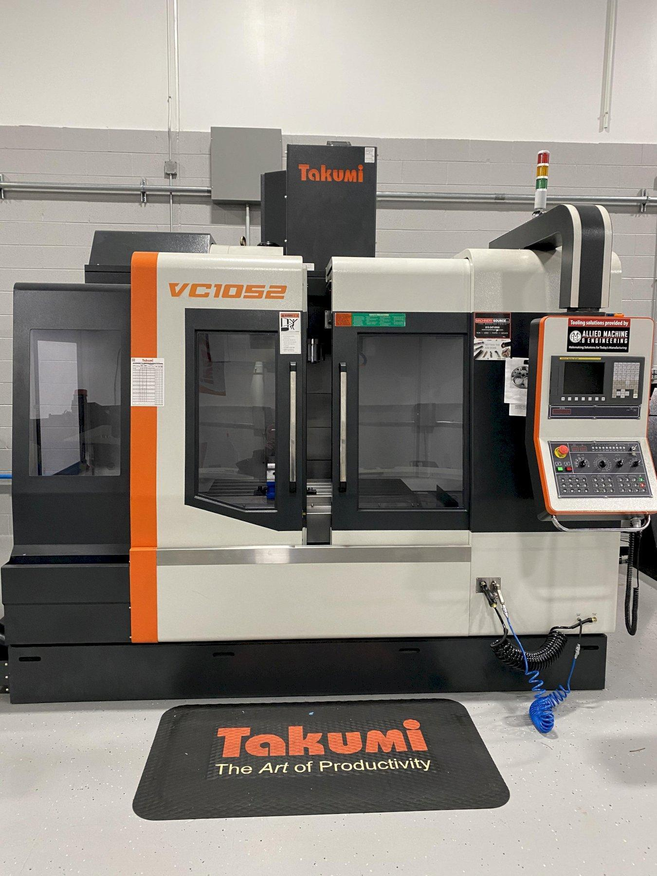 2016 TAKUMI VC1052 VERTICAL MACHINING CENTER