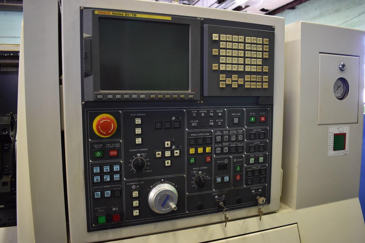 Doosan/Daewoo 240C CNC Lathe Fanuc 21iTB Control