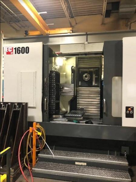 Haas EC-1600-4X CNC Horizontal Machining Center